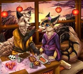 [Commission] Every day with you is a festival