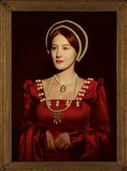 Anne Boleyn  Thornbury Castle Portrait by grinningsun