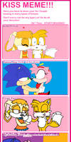Sonamy and Taiream :kiss meme: by andy-little-dog