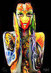 Body Painting Collaboration