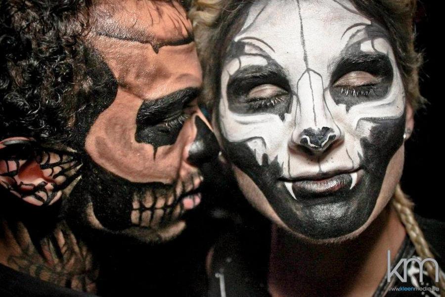 SKULL makeup by NatashaKudashkina