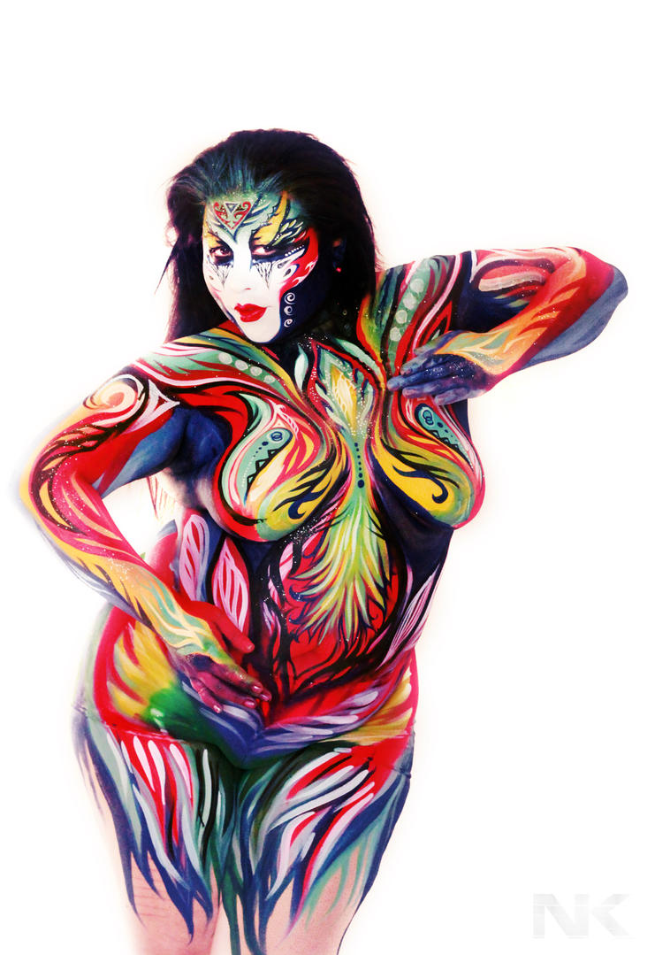 Body Painting NK. Cultivate your curves. by NatashaKudashkina