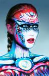 Body paint Art NK