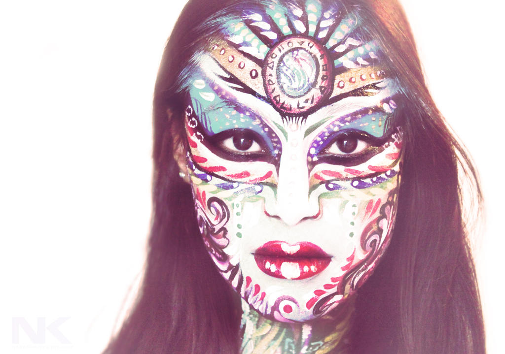 Face paint Goddess by NatashaKudashkina