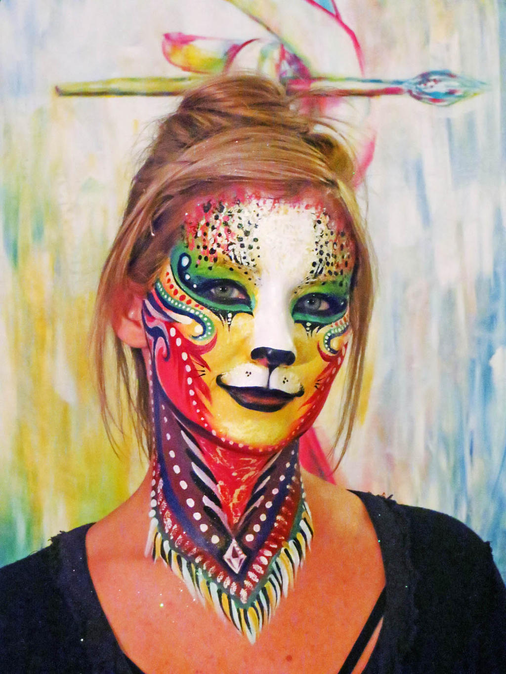 Body Paint Animal Art