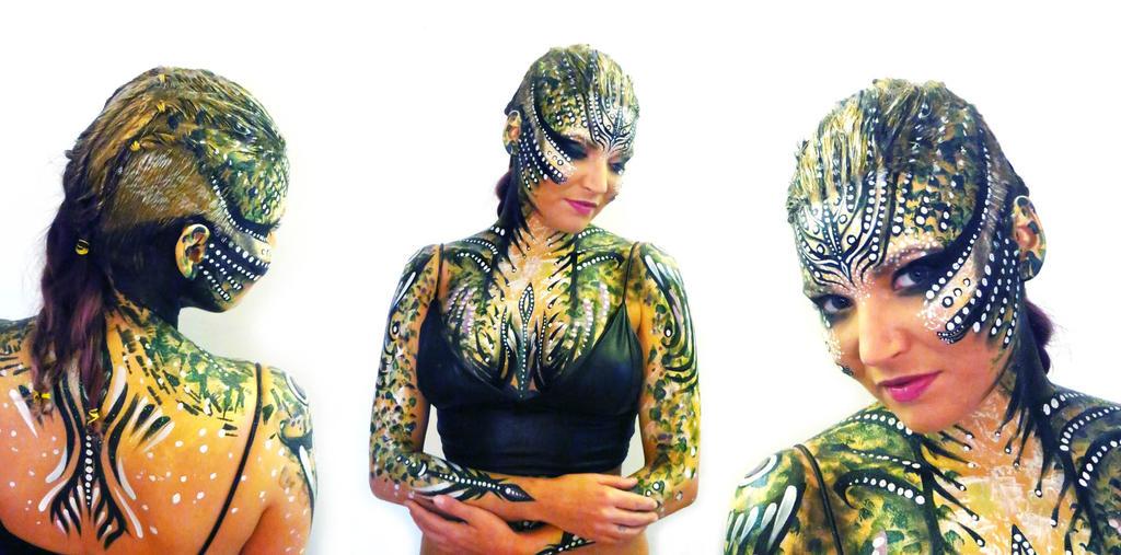 Medusa bodyart/makeup by NatashaKudashkina