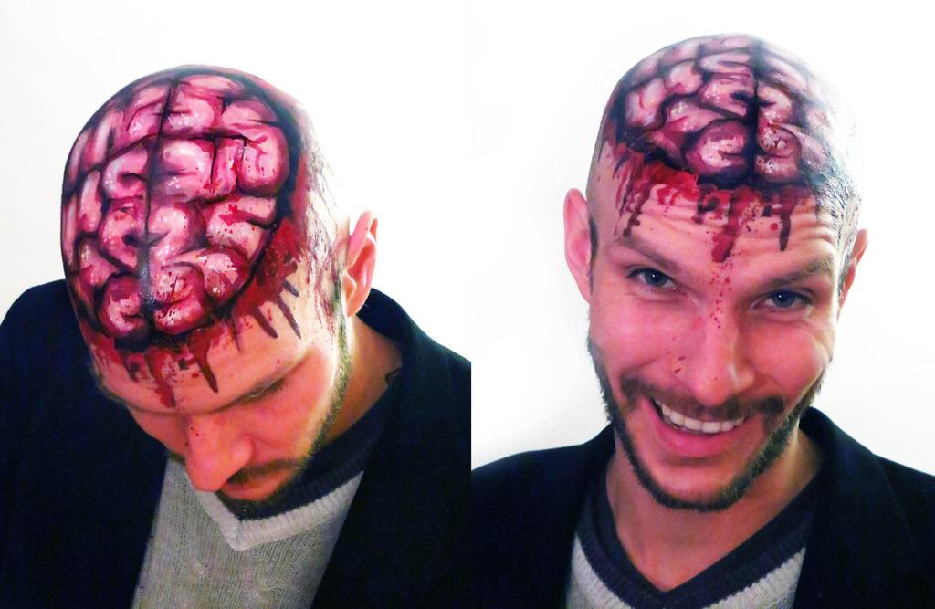 Open Brain makeup by NatashaKudashkina