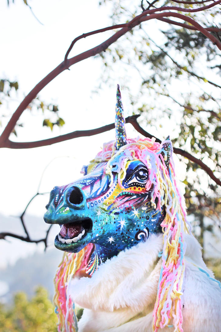 Unicorn Mask by NatashaKudashkina