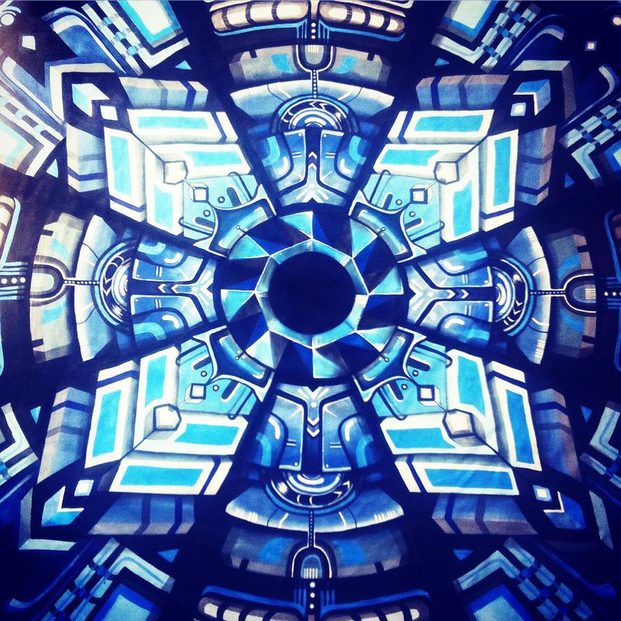 Space Ship Door by NatashaKudashkina