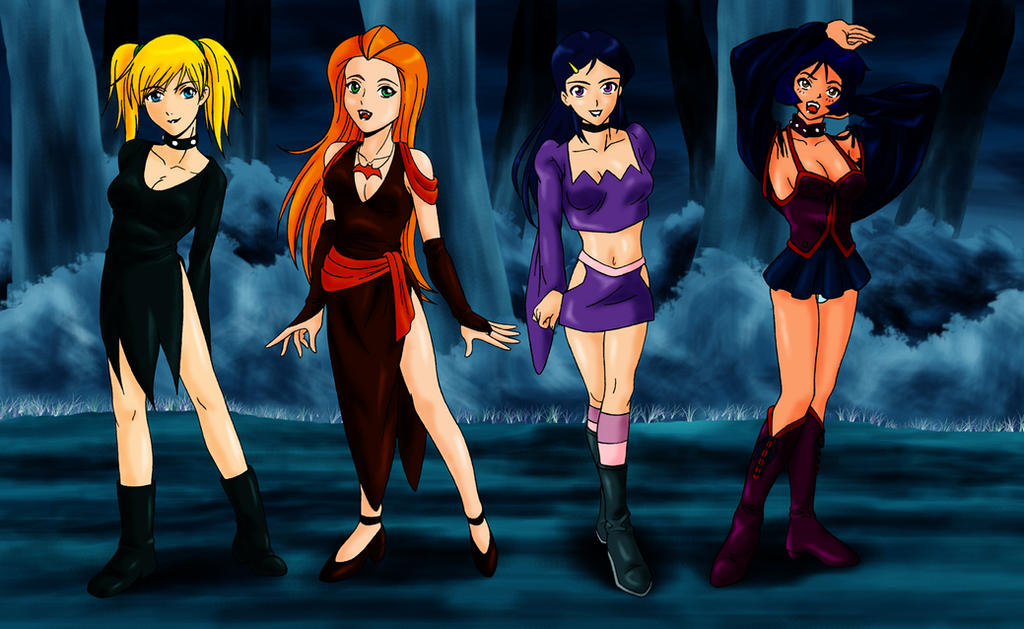 Totally Halloween Spies by zentron