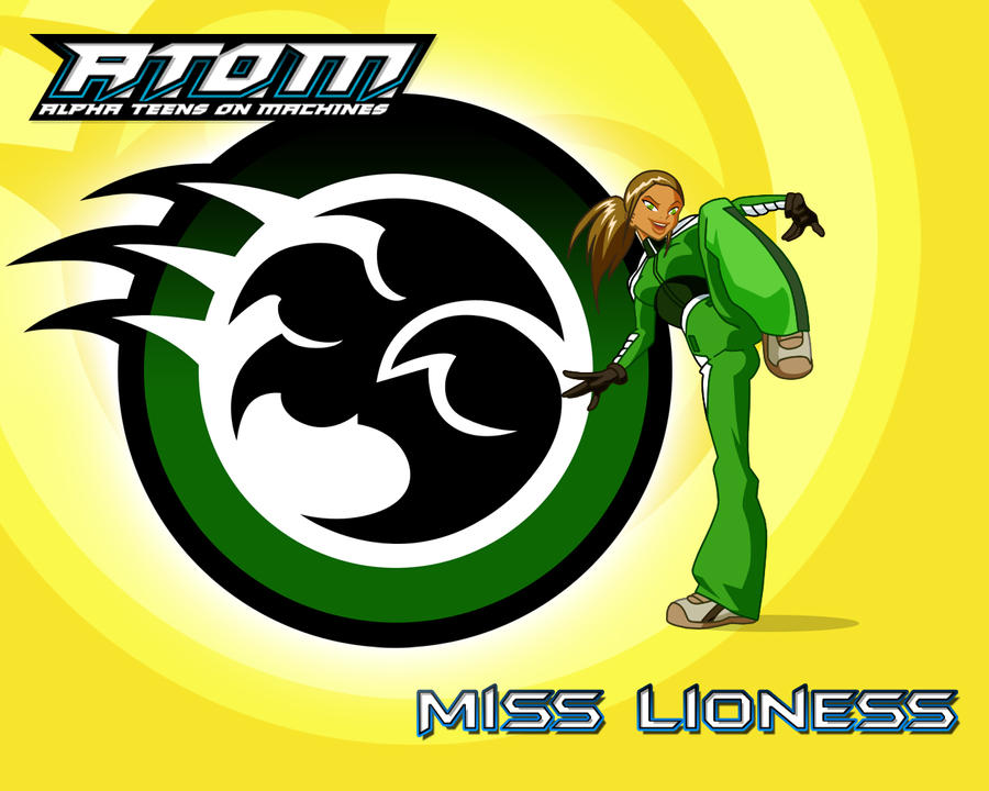 Miss Lioness - 1280x1024 01 by zentron
