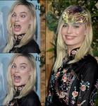Alien invasion Margot Robbie