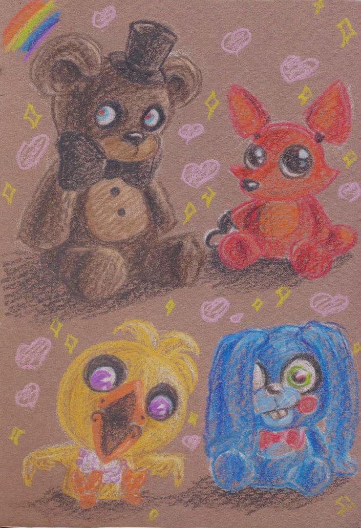 Cutie FNAF toys by Lenardiya
