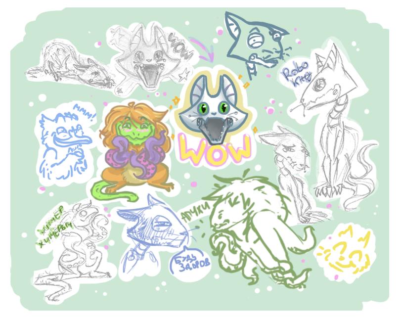 Stickers by Lenardiya