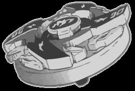 Beyblade Vector BW: Dragoon MSUV by HieiFireBlaze
