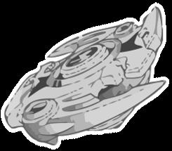Beyblade Vector BW: Makoto's bey by HieiFireBlaze