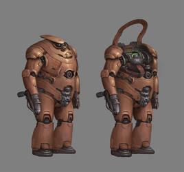 CONCEPT : Heavy Soldier