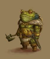 CONCEPT : Toad warrior