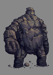 CONCEPT: NEH Rock biter giant by Ancorgil
