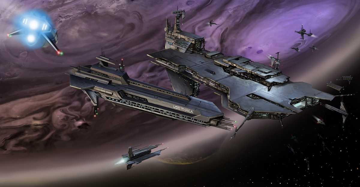 CONCEPT: Space Station by Ancorgil on DeviantArt