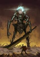 Death Colossus - OGRAIAMEL by Ancorgil