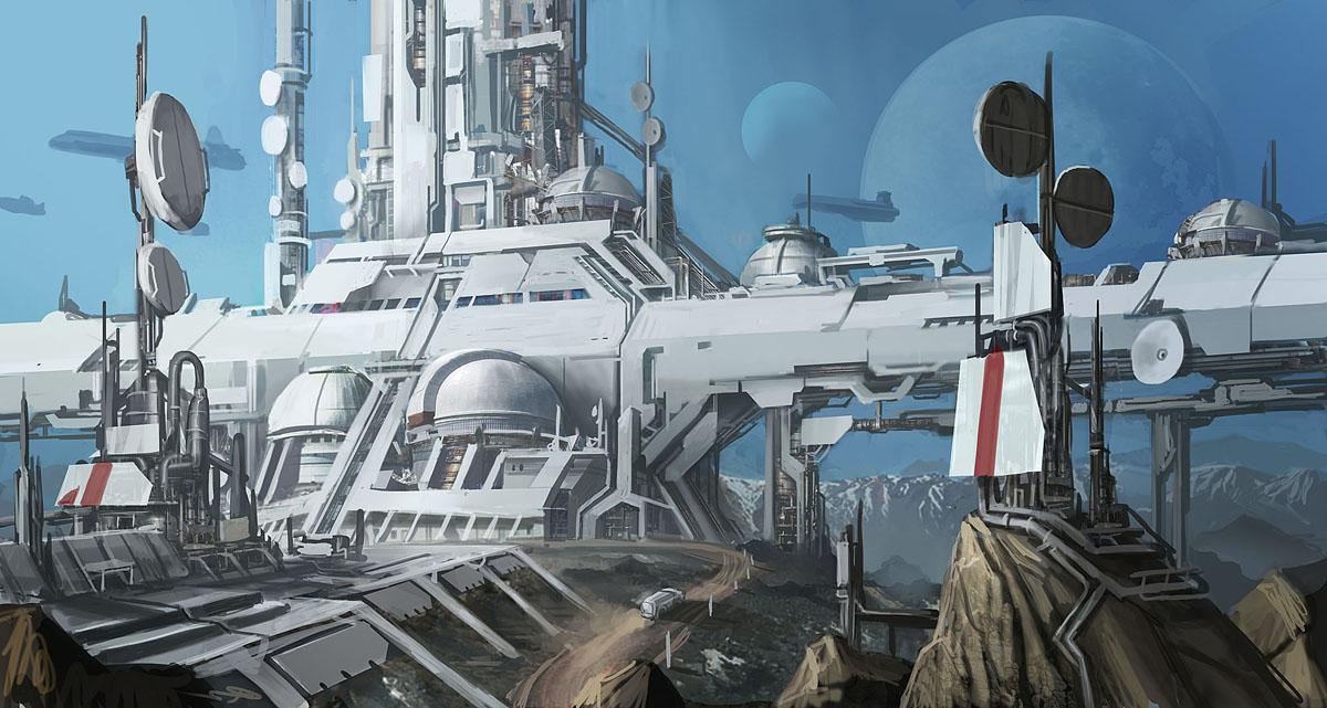 Scientific Station I by Ancorgil