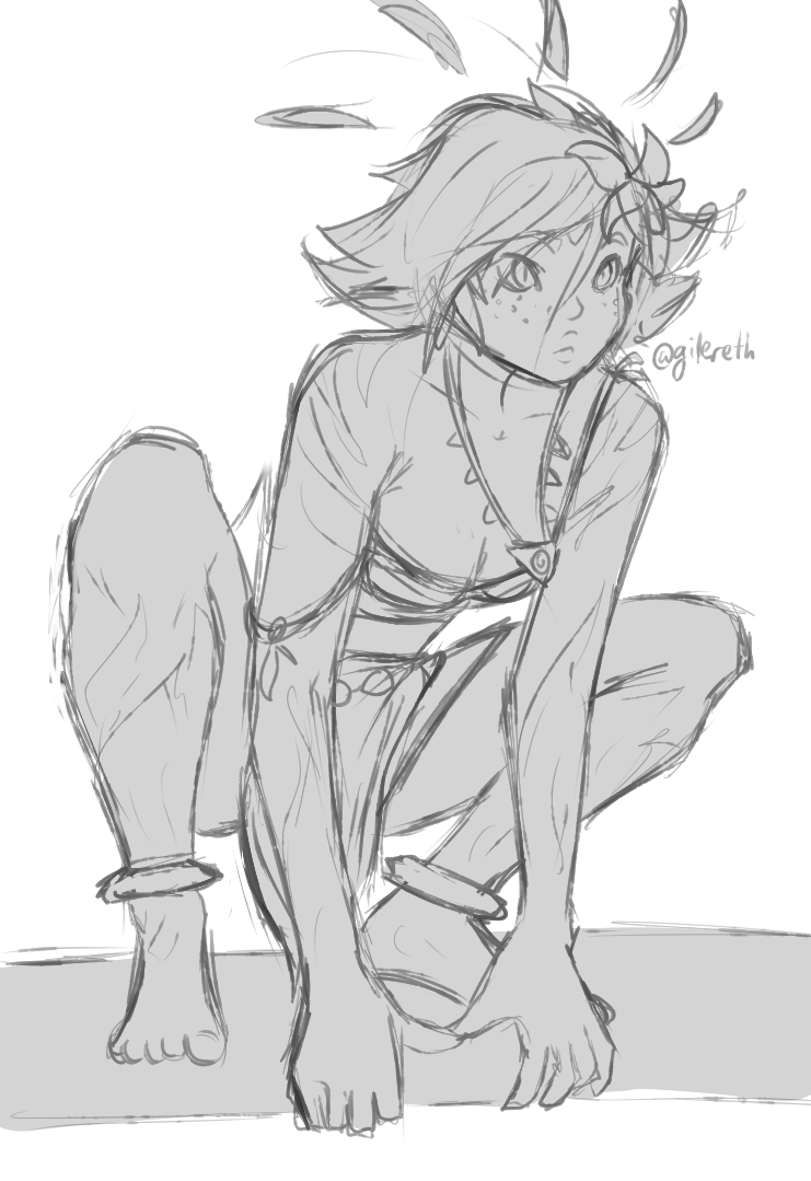 Neeko Sketch
