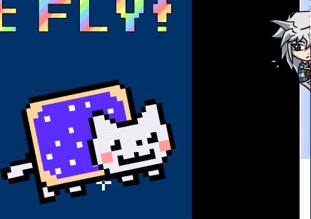 Bakura's Nyan Cat by SakanaUchiha