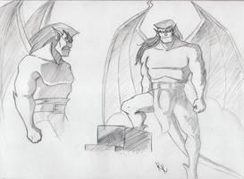 Goliath sketches 2