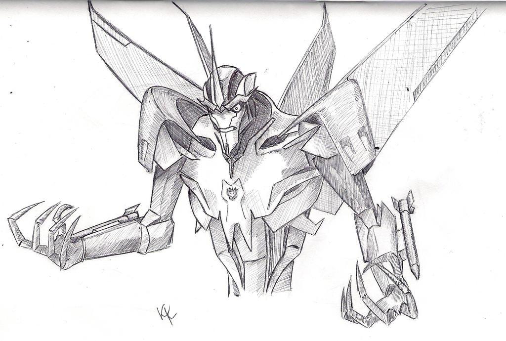Starscream sketch by KristyBarka