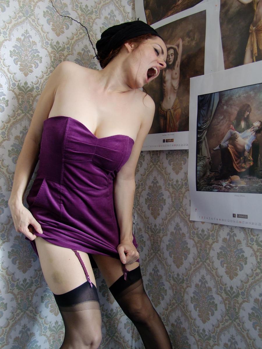 Violet Kick by Shebecka