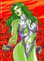 She-Hulk Color by fernandomerlo