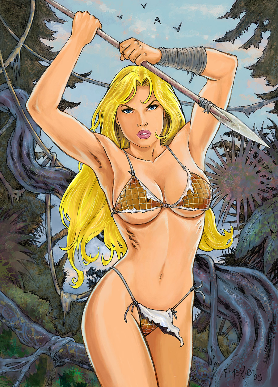 Shanna the she-devil by fernandomerlo
