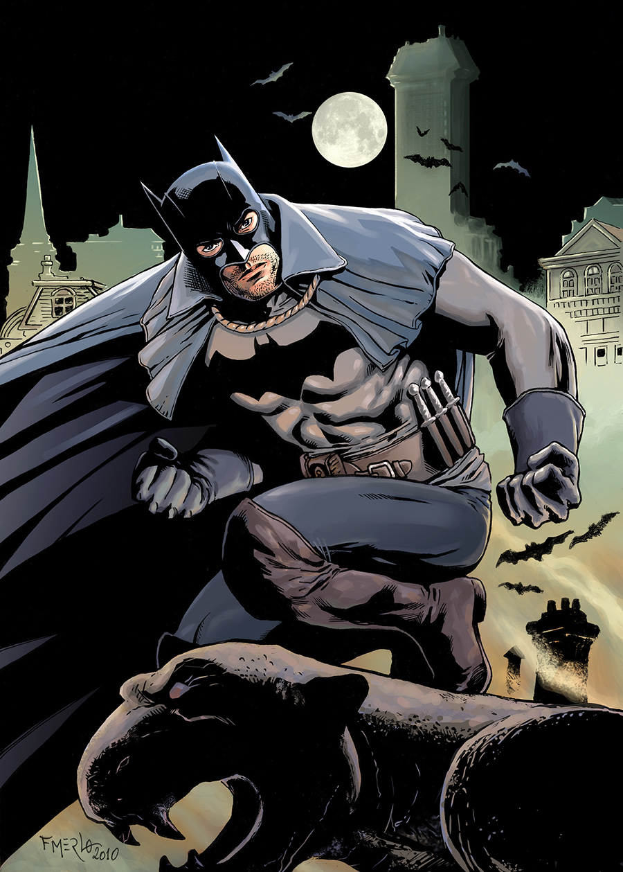 Batman 1889 color by fernandomerlo