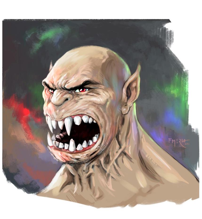 Creature-Corel Painter 12 test by fernandomerlo