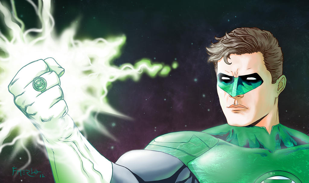 Green Lantern New 52 by fernandomerlo