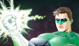 Green Lantern New 52 by fernandomerlo