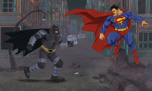 Batman Vs Superman by fernandomerlo