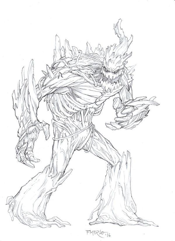Creature Concept by fernandomerlo