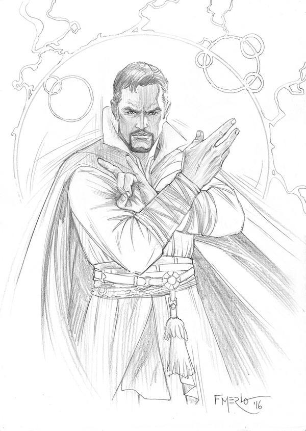 Doctor Strange by fernandomerlo