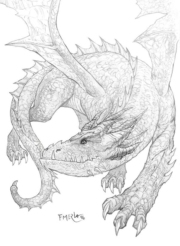 Dragon by fernandomerlo