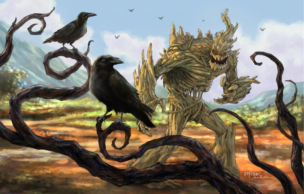 Crows by fernandomerlo