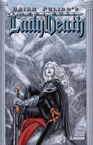 Medieval Lady Death by fernandomerlo
