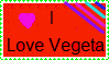 I Love Vegeta Stamp by KashianXanthe