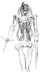 Kadoe Sketch by DeimosSaturn