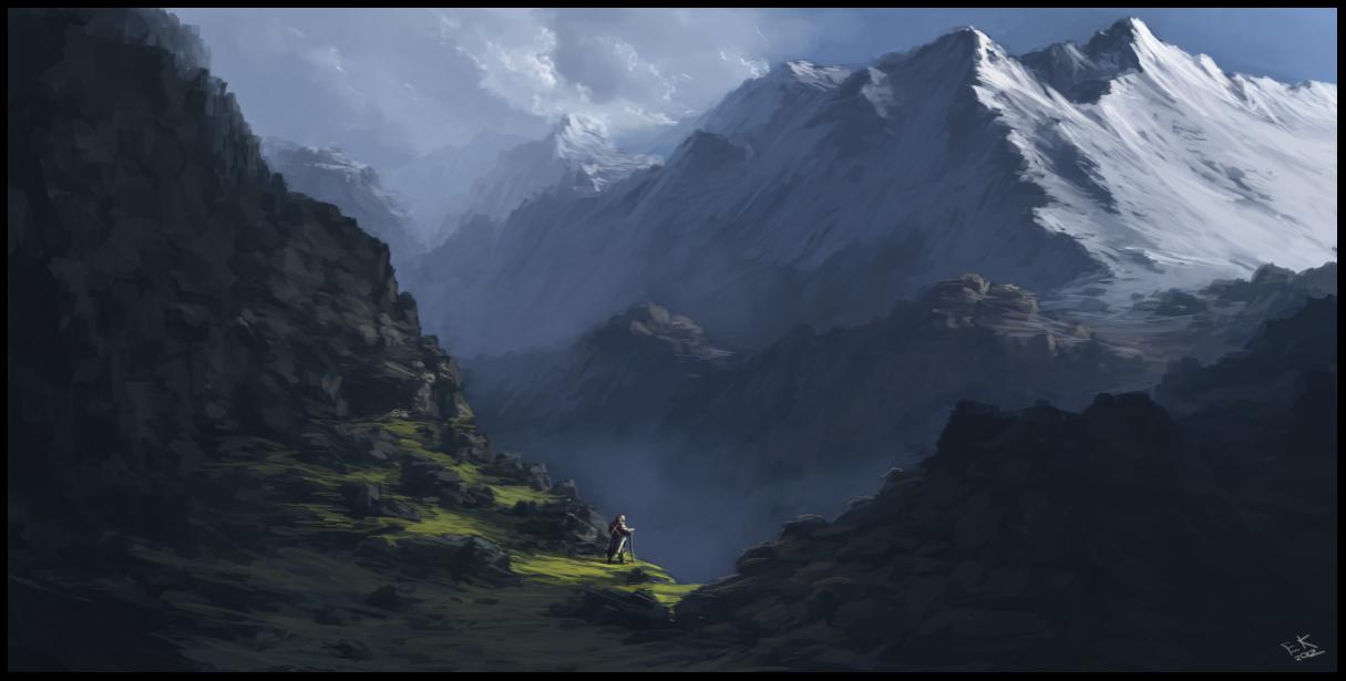 The Hiker's Rest by eeliskyttanen