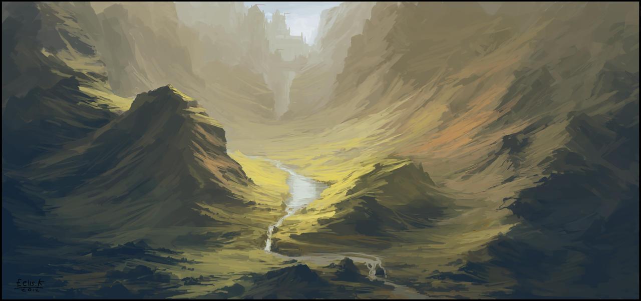 Valley of the Mazetop by eeliskyttanen