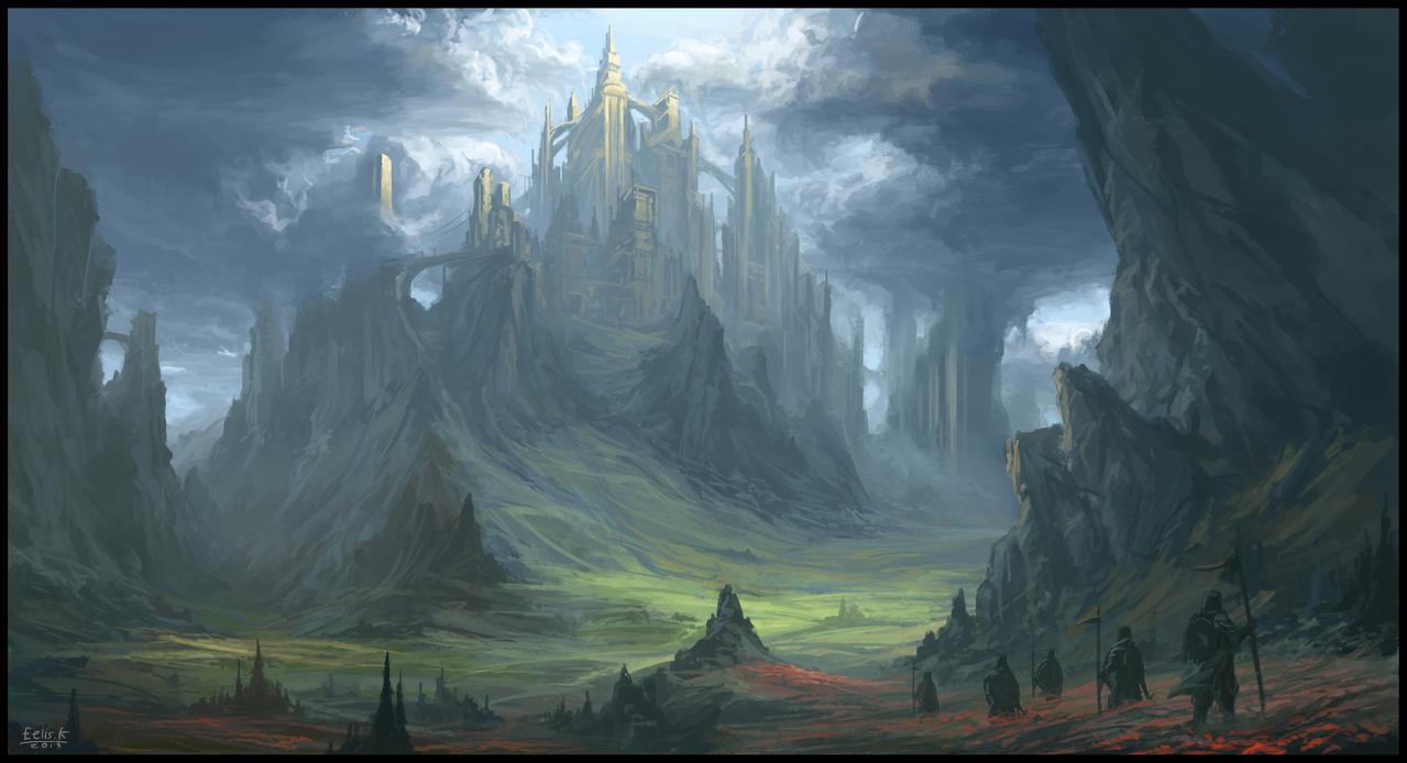 The Towers of Hadenheim by eeliskyttanen