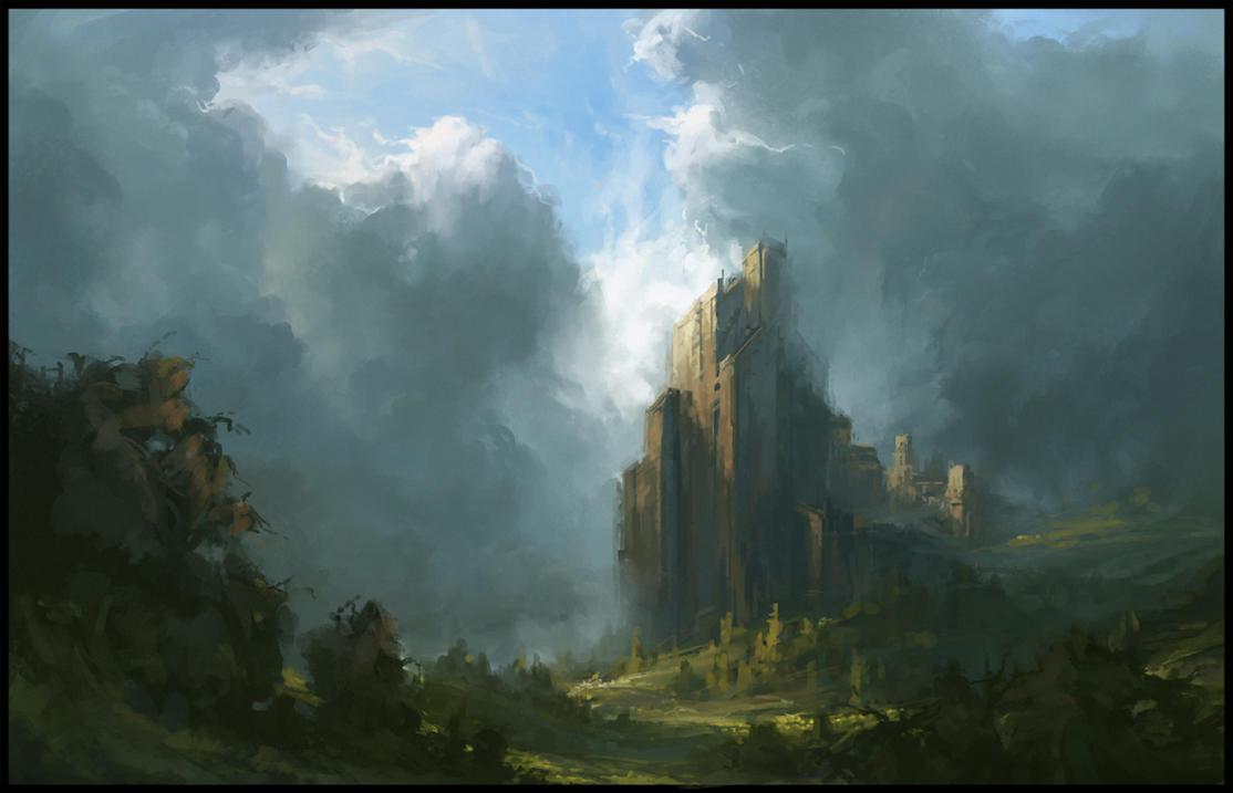 Castle by eeliskyttanen