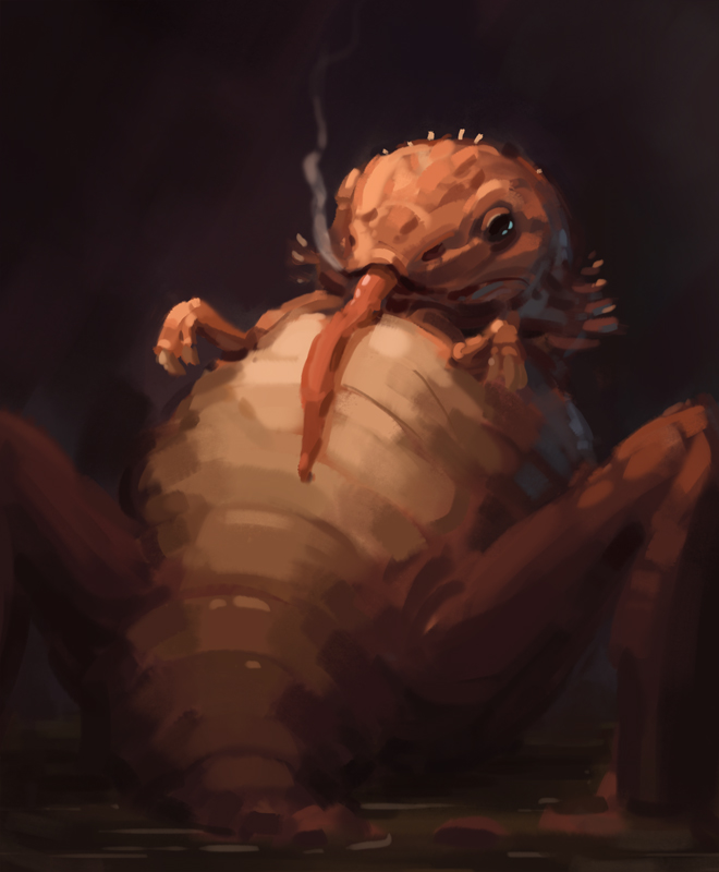 Fat Lizard sketc by eeliskyttanen